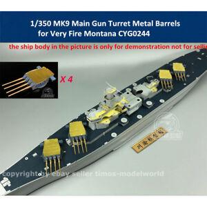 1-350-MK9-Main-Gun-Turret-Metal-Barrels-for-Very-Fire-Missouri-Montana-CYG024