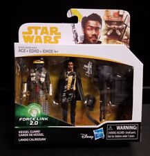 "Star Wars SOLO Force Link 2.0 LOOSE 3.75/"" Figure KESSEL GUARD w// Cannon no LANDO"