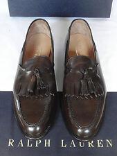 NEW Ralph Lauren CORDOVAN CRUP Loafer Shoe by Crockett & Jones UK 9 E RRP £620