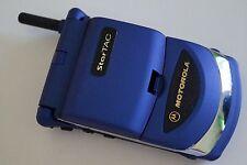 Motorola StarTAC 130 - Blau (Ohne Simlock) Handy im V50 Look! Einzelstück Rar!