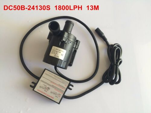 5-24V DC Submersible Small Water Pump High Pressure Pumps 1800LPH 13M High Lift