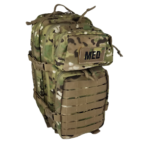 ELITE FIRST AID Tactical Trauma Kit #3 STOCKED w/ Backpack Medic MTC