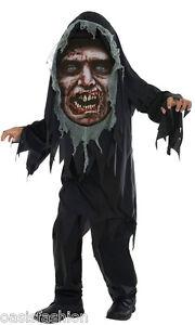 Nino-Muerto-Vehiculo-Loco-Creeper-Zombie-Segador-Horror-Disfraz-De-Halloween