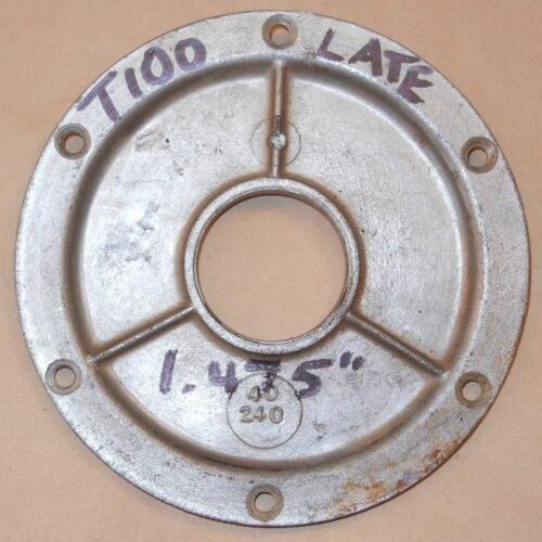 """1.475/"""" trap door plate = 70-7037 * 1968-1974 Triumph 500 650 4-speeds seal O.D"""