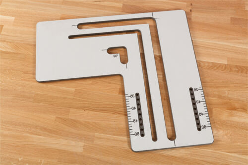 Sizes and Types Available Various Cutting Jig Templates Worktop Router Jigs