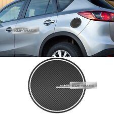 Fuel Oil Tank Door Cap Carbon Decal Sticker Cover Molding for MAZDA 2013-16 CX-5