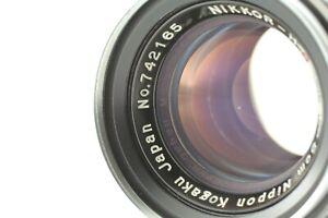 [MINT] Nikon Nikkor H.C 50mm f/2 Black Belt Lens Leica L39 Mount From Japan