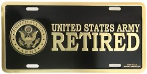 US-ARMY-RETIRED-HIGH-QUALITY-METAL-LICENSE-PLATE-MADE-IN-THE-USA