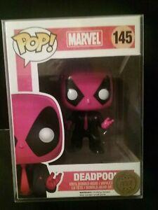 Funko Pop vinyle Deadpool habillé pour tuer Marvel Exclusive 145 Free Protector