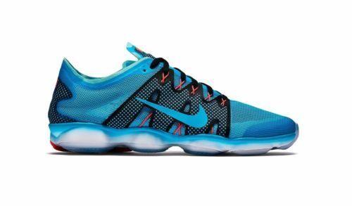 femmes Running Nike Zoom Fit Agility2 Bleu/ blanc Running femmes Trainers 806472 4005.5 (49) 640084