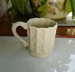 Collinswood-Silvestri-Victoria-Albert-Museum-Embossed-Cup-Mug-Gothic-Celadon-V-amp-A
