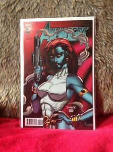 AVENGERS-9-JIM-LEE-XMEN-CARD-VARIANT-EDITION-MARVEL-COMICS
