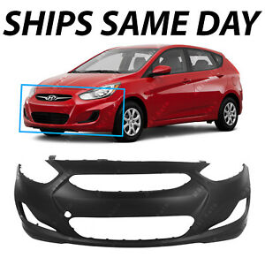 Image Is Loading Primered Front Bumper Cover For 2012 2013 Hyundai