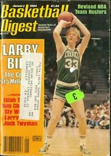 1984 Basketball Digest: Larry Bird - Boston Celtics/Isiah Thomas/Tom Chambers