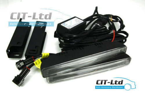 High Quality DRL Daytime Lights 4-LED CREE Daylight Guide HQ-V18 fit VW II