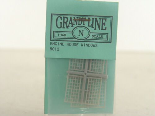 8012 Industriefenster Bauteile Set Grandt Line Spur N gebr. #E