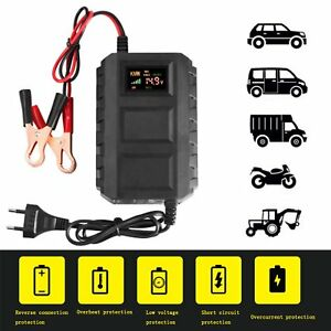 Car-Battery-Lead-Acid-Charger-Automobile-Motorcycle-12V-20A-Intelligent-LCD