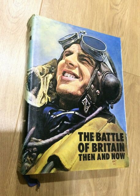 Winston Ramsey et al BATTLE OF BRITAIN THEN & NOW Signed hardback 2nd ed 1982