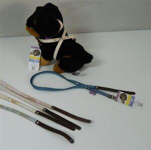 Collare-Pettorina-a-scorrimento-cani-LARIUS-70-cm-Mimetico-Scozzese-Jeans-M227