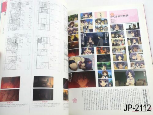 Clannad Visual Fanbook Japanese Artbook Japan Illustration Book US Seller