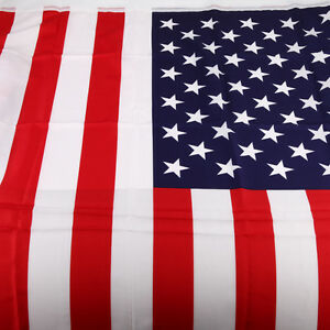 3x5 Ft American Flag Stripes Nylon USA U.S. US Printed STARS NEW