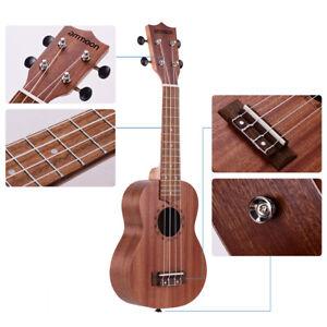 21-034-Acoustic-Ukulele-Sapele-15-Fret-4-Strings-Stringed-Musical-Instrument-R0K5