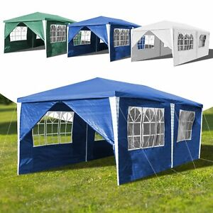 3x6m-Festzelt-Gartenzelt-Partyzelt-Bierzelt-Hochzeit-Strandzelt-Pavillon-Zelt