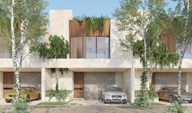 Pre venta de Town house en Marenta en zona premium Altabrisa – Cholul