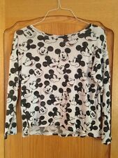 Unisex H&M Divided Disney Mickey Mouse Tee T Shirt Size S Imported