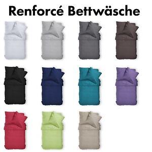 Renforce-Uni-Bettwaesche-aus-100-Baumwolle-11-Farben