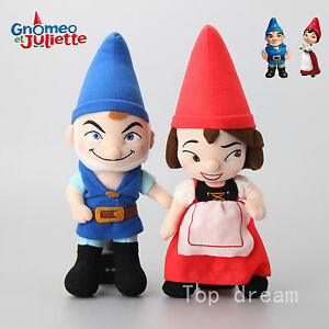 Cartoon-Movie-Gnomeo-and-Juliet-Plush-Toy-Soft-Stuffed-Doll-32cm-12-6-039-039-Kid-Gift