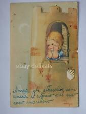 MARIAPIA TOMBA principessa castello bambina vecchia cartolina