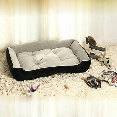 Large big Comfort Pet Dog Nest Doghole House Bed Puppy Mat Basket Kennel Cushion