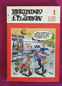 Libro-Mortadelo-y-Filemon-Biblioteca-El-Mundo-lo-mejor-del-comic-espanol-tebeo