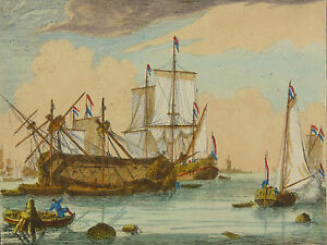 Ludolf-Backhuysen-1630-1708-Marine-Allaert-Van-Everdingen-Hendrik-Dubbels