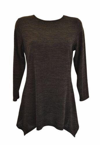 Nouveau femmes chaud inégale ourlet plus long blouse top plus taille 14-30