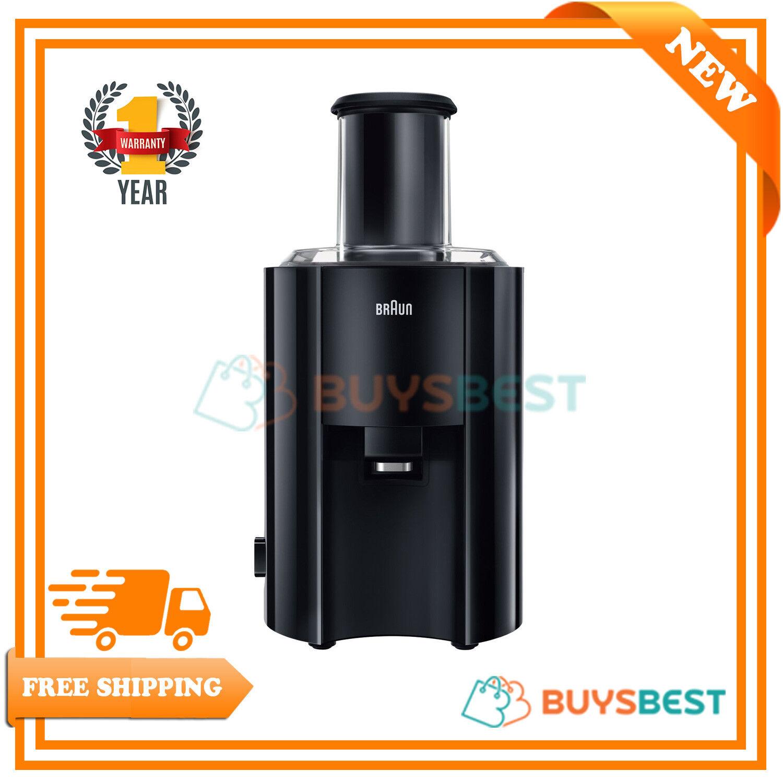 marron 2 vitesses processus Spin Juicer 800 W Premium Noir-J300BK