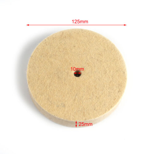 3-12 Inch Wool Felt Polishing Grinding Wheel Buffing Abrasive Pad Rotary Tool