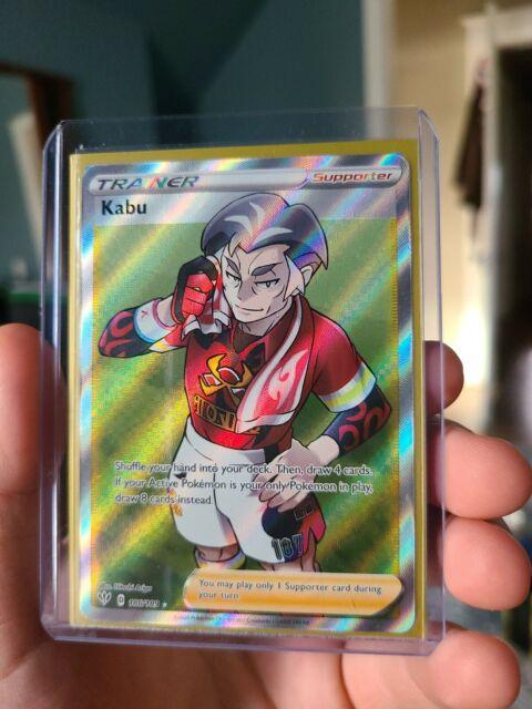 Kabu 186/189 - Pokemon Darkness Ablaze - Full Art Ultra Rare - Near Mint