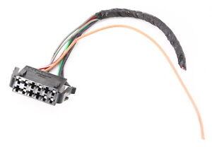 Central Locking Vacuum Pump Wiring Plug Pigtail 0002 VW Cabrio