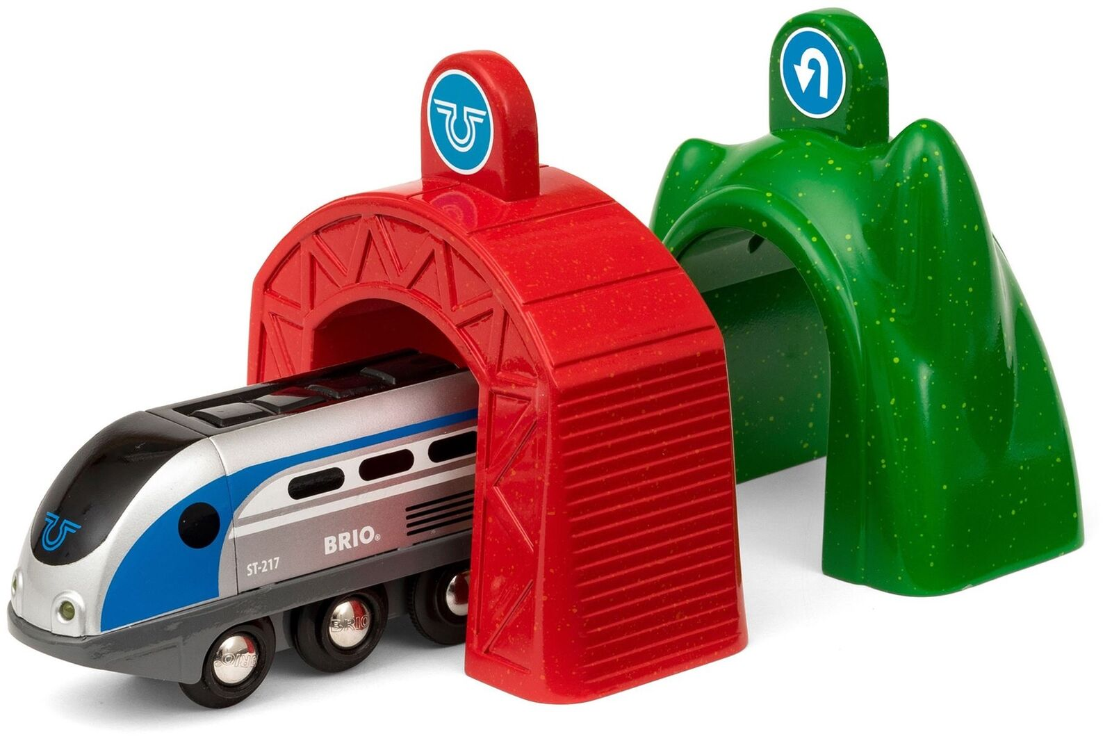 Brio SMART TECH ENGINE ENGINE ENGINE WITH ACTION TUNNELS Wooden Toy Train - NEW 6762a6