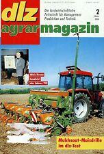 dlz 2 00 2000 Meteor 150 S-CX Agrotron 120 Favorit 512 Gülledüngung Maisdrille