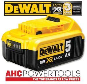 Dewalt Dcb184 18v Xr Li Ion Battery 5ah Ebay