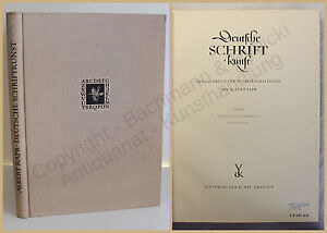 Kapr-Deutsche-Schriftkunst-Fachbuch-fuer-Schriftschaffende-1955-Geschichte-xy