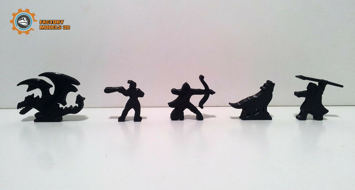 The growing BGG (limited edition exclusive edition) meeples tokens
