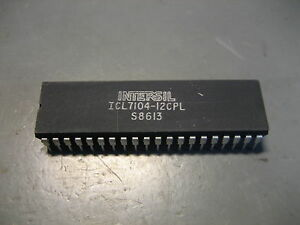 ICL7104-12CPL-14-Bit-16-Bit-Microprocessor-Compatible-2-Chip-A-D-Converter