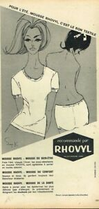 N-Publicite-Advertising-1963-Sous-Vetement-Mousse-Rhovyl
