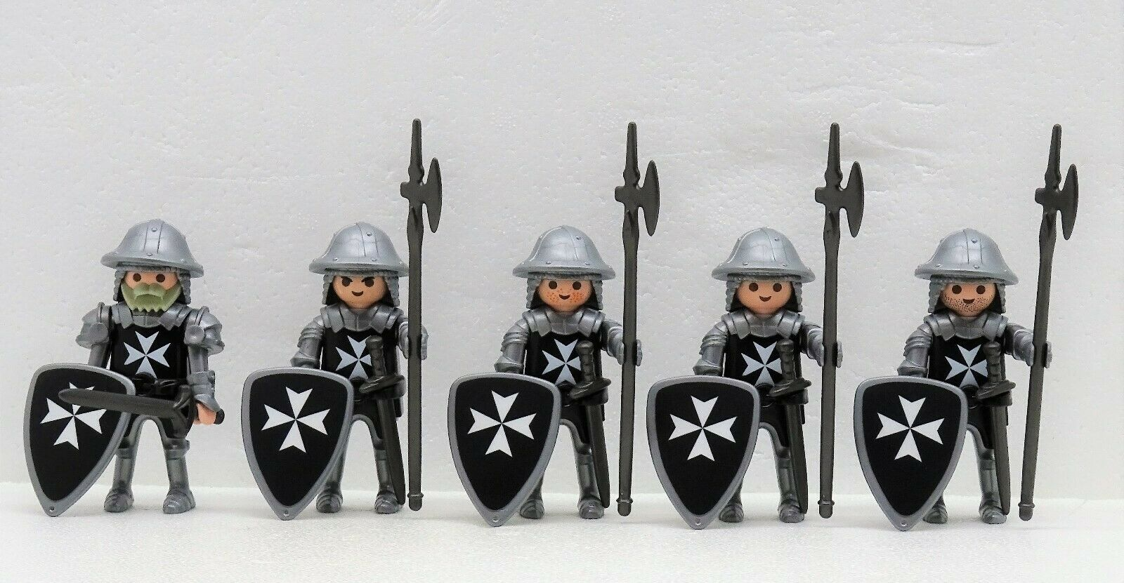 5 Malteser Knight D Playmobil Crusader Shield Order Crusader vs Saladin RAR