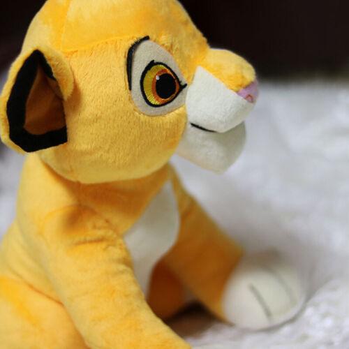"""New The Lion King Film Simba Peluche 10/"""" Poupée Figurine Enfants Cadeau De Noël"""