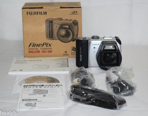 1 of 1 - Fujifilm FinePix BIGJOB HD-3W 6.0 MP Digital Camera - NEW & BOXED